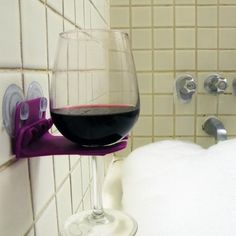 7 Questions with the Inventor of the #Shower #Wine Glass Holder