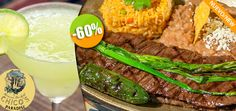 Chico's Paradise - $88 en lugar de $220 por 1 Delicioso Platón Mexicano + 1 Margarita Jumbo ó 1 Limonada Click http://cupocity.com