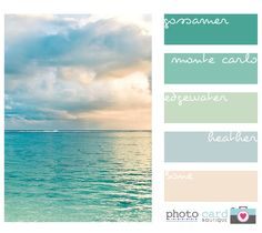 beach color palette- heather color for my room!