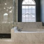 Master Bath Wall Tiles Design http://www.DFWImproved.com #MasterBathRemodel