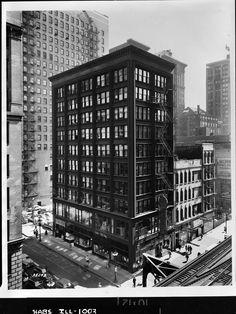 Cable Building, 1957, Richard Nickel