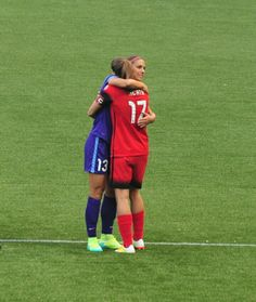 Tobin Heath # Alex Morgan 04.17.16