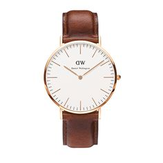 Buy your Daniel Wellington Classic St Mawes Rosegold® Watch from an authorised retailer with free worldwide delivery. October 2016 collection and 5% off your first order