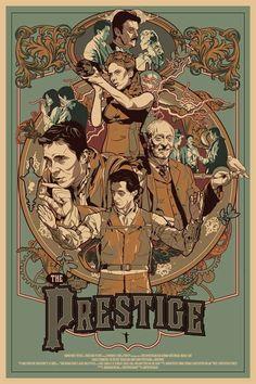BROTHERTEDD.COM Best Movie Posters, Movie Poster Art, Cool Posters, Films Cinema, Cinema Posters, The Prestige Movie, Alternative Movie Posters, Movie Wallpapers, Film Serie