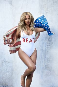 Swimwear beyonce white white swimwear editorial one piece swimsuit quote on it sexy summer outfits leotard Destiny's Child, Swimsuits, Bikinis, Swimwear, Beyonce Style, Beyonce Body, Beyonce 2016, Beyonce Tattoo, Beyonce Knowles Carter