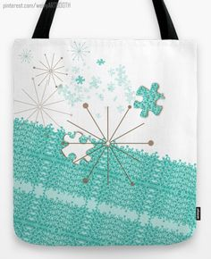 """Infinite white lacy wave Line tote bag designed by We~Ivy especially for you. Design type: illustration. Sizes 13"""", 16"""", 18"""" available. Follow We~Ivy's Art BootH for more special #art #gift ideas for #holiday seasons or # birthday #party, to find great #home decors or stuff just to spoil yourself. Waves Line, Presents For Friends, My Themes, Website Themes, Good Cause, Infinite, My Design, Cool Style, Backpack"""