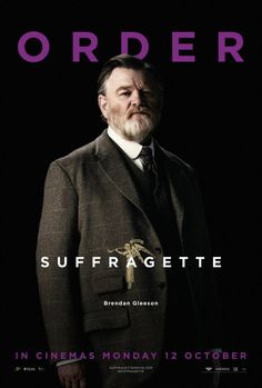 Brendan Gleeson in Suffragette Brendan Gleeson, Helena Bonham Carter, Meryl Streep, Hd Movies, Movie Tv, Films, 3 10 To Yuma, Feminist Movement, Inspirational Movies