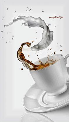 Animation 029 by morphinelips Coffee Gif, Coffee Images, Coffee Talk, Coffee Is Life, I Love Coffee, Coffee Quotes, Black Coffee, Coffee Break, My Coffee