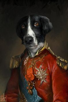 Pet-traits by zebo ludvicek, via Behance