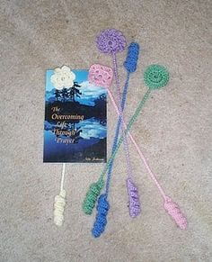 Crocheted book marks