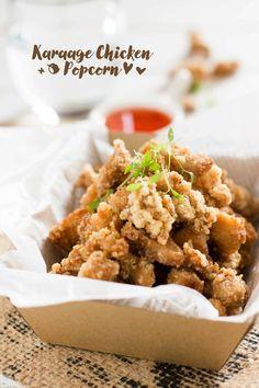 Crispy Karaage Chicken Popcorn 唐揚げポップコーンチキン