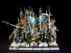 Jay's Wargame Painting: High Elve Dragon Princes with Charakters / Hochelf...