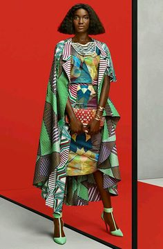 Vlisco: Gaye McDonald - photos Barrie Hullegie & Sabrina Bongiovanni hair/makeup Sandra Govers