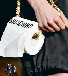 Whaaaat the f&#ck? from Elle (Singapore) October 2017 - moschino
