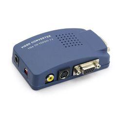 Monoprice VGA to RCA Lenkeng http://www.amazon.com/dp/B001CJOLBW/ref=cm_sw_r_pi_dp_bPb1tb0W59R0HKYK