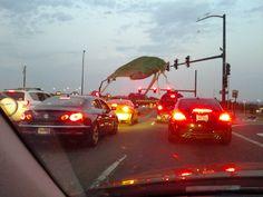 I, too, had a bug on my windshield.