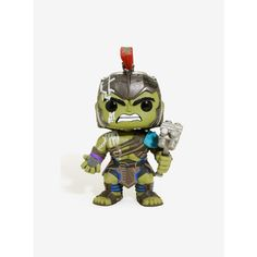 Funko Pop! Marvel Thor Ragnarok Hulk Vinyl Figure ($11) ❤ liked on Polyvore featuring home, home decor, funko, vinyl figure, incredible hulk figure, hulk figurine and hulk figure