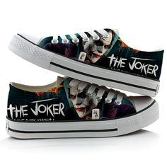 Suicide Squad Harley Quinn Joker Unisex Canvas Lace Up Flat Skate Casual Sneaker Boots Superga Sneakers, Slip On Sneakers, Casual Sneakers, Sneakers Fashion, Joker Costume, Adidas Basketball Shoes, Blowfish Shoes, Keen Shoes, Best Running Shoes