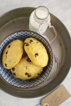 Biscotti morbidi zucca e cioccolato