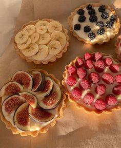 Think Food, I Love Food, Good Food, Yummy Food, Cute Desserts, Dessert Recipes, Food Goals, Cafe Food, Aesthetic Food
