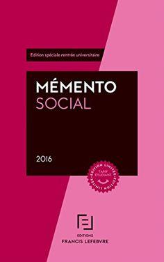63 synthèses thématiques, classées par ordre alphabétique, sur le droit français du travail et de la Sécurité sociale. A jour au 1er février 2016. Edition spéciale rentrée universitaire.