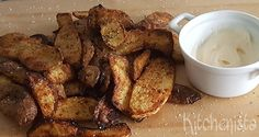 Geroosterde aardappelschillen