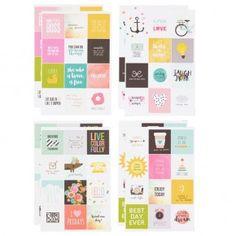 Carpe Diem Insta Quote Stickers