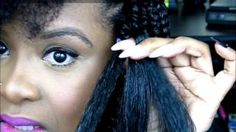 how to do box braids yourself - YouTube