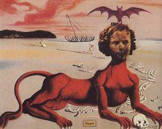 """nataliakoptseva: """" Salvador Dali 1939 """""""