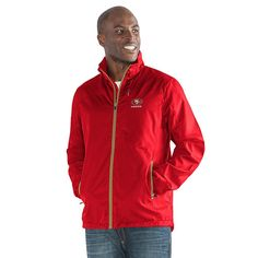 Officially Licensed NFL Movement Full-Zip Packable Jacket by Glll - 49ers