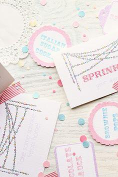 Sprinkles Sprinkles Everywhere ~ tent card
