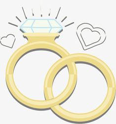 Sparkling wedding rings PNG and Vector Wedding Ring Vector, Wedding Ring Images, Wedding Ring For Him, Wedding Rings Sets Gold, Antique Wedding Rings, Wedding Anniversary Rings, Sparkle Wedding, Wedding Gold, Diamond Ring Cuts