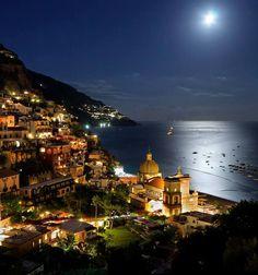 Positano, Italy moonlight becomes you