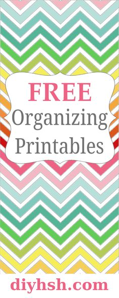Tons of FREE organiz