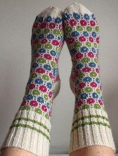 Ravelry: Project Gallery for Tiit's Socks pattern by Nancy Bush