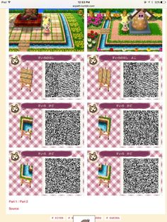Water bridge pieces - New Ideas - Acnl Acnl Paths, Motif Acnl, Transparent Flowers, Hair Patterns, Animal Crossing Qr Codes Clothes, Kids Makeup, Post Animal, Bridge Design, Rainbow Painting