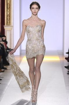 Kinda like a tinkerbell dress--- so pretty!  Zuhair Murad Spring 2013 Couture Collection