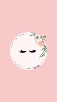 Instagram Logo, Instagram Design, Instagram Story, Eyebrow Template, Rose Gold Aesthetic, Eyelash Logo, Makeup Artist Logo, Lashes Logo, Beauty Salon Decor