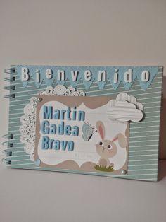 Scrap con Raquetuille: Álbum para bebe