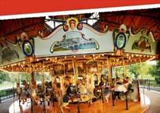heritage carousel- union park, des moines. a fun place for the kids and at just 50cents a ride they can enjoy anytime