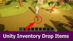 Unity Inventory Tutorial : Drop Items