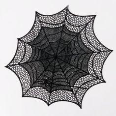 Halloween Spiderweb Vinyl Placemat