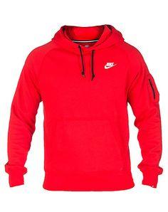 d3a05d82b9 NIKE Hoodie sweatshirt Adjustable drawstring on hood Long sleeves Soft  inner fleece for ultimate com.