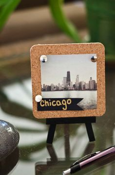 DIY Instagram Mini Easel Display :: #happinessiscreating.com