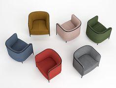 Poltrona moderna e com design?   Apresentamos-lhe a Place, da marca de mobiliário italiano Gaber.