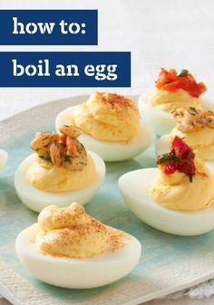 How to Boil an Egg – An easy way to make the perfect hard-boiled eggs every time. A helpful how-to for the Easter season!