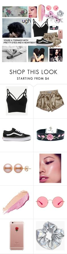 """""""Amber Lien //I'm a princess cut from marble//"""" by roasted-alien ❤ liked on Polyvore featuring Vans, By Terry, Karlsson, Ray-Ban, ETUÍ and Boohoo"""