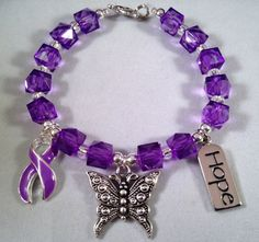 Hey, I found this really awesome Etsy listing at https://www.etsy.com/listing/198456517/beautiful-purple-ribbon-awareness