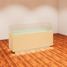 Revit Family, Glass Display Case, Model Shop, Led Strip, Light Fixtures, Storage Chest, Shelves, Furniture, Design