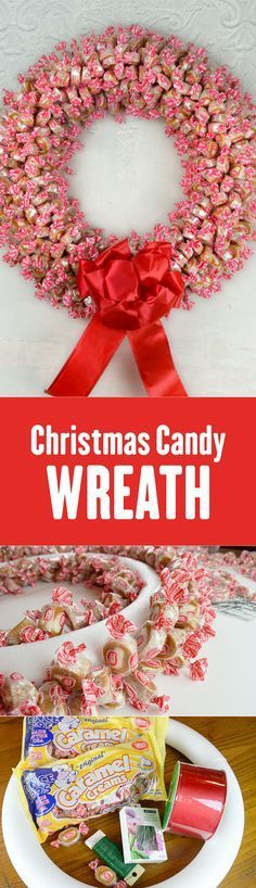LOVE this idea! I could make Caramel Creams candy wreaths for the holidays and give them as Christmas gifts!